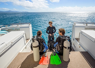 Dive Tours on the Great Barrier Reef
