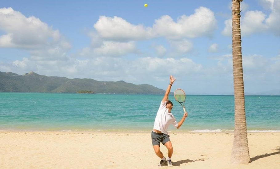 Play tennis at InterContinental Hayman Island