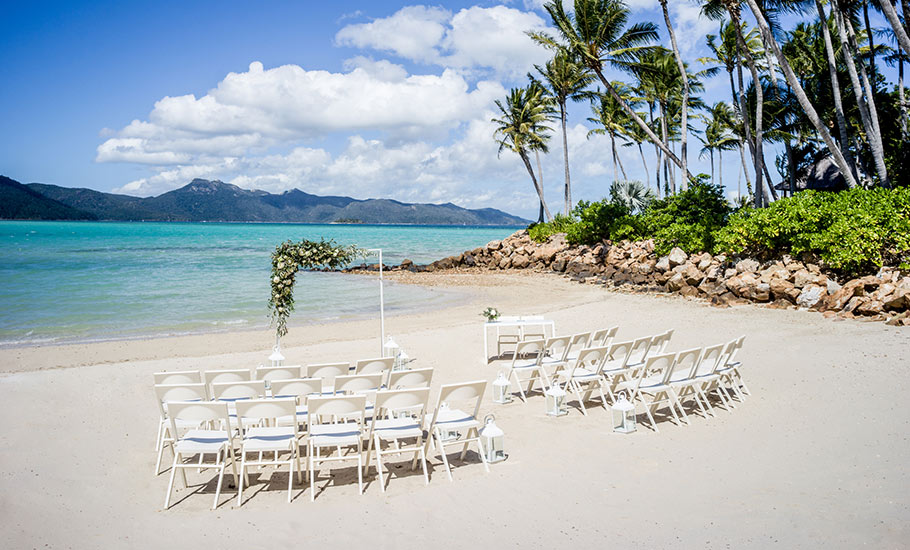 Wedding packages include beach weddings