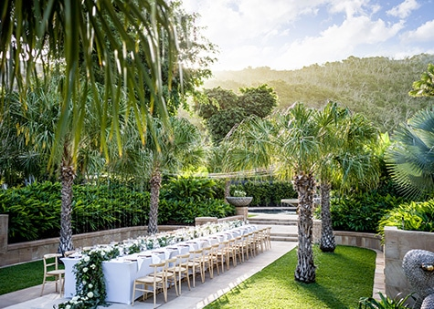 Formal Gardens Wedding