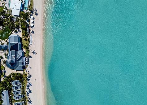 Hayman Beach Aerial